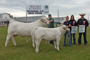 Justin Cay Melfort 4-H Res. Female